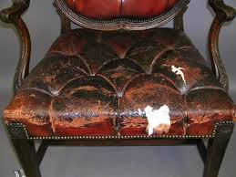 King Edwards Chair by Gallery U2013 The Leather Conservation Centre