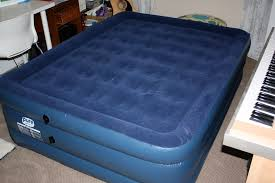 Aerobed Queen Air Bed With Headboard by Queen Air Mattress Raised Queen Air Mattress Sharper Image