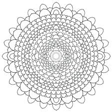 Coloring Pages Intricate Pdf Adult Page Lots Of Mandalas Mandala Free For Adults