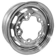 Chrome Replacement Steel Rims - (5 X 205) - 15
