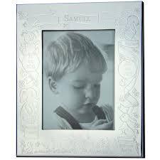 cadre photo bapteme personnalise cadre photo thème baptême ii personnalisable métal argenté