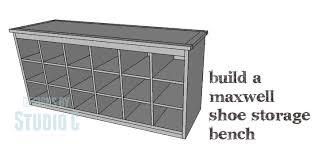 stylish shoe storage bench plans and best 20 wooden shoe storage