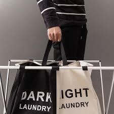 3 abschnitte faltbare wäsche korb große faltbare wäsche lagerung tasche badezimmer organizer schwarz schmutzige kleidung spielzeug korb box