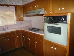 1962 Phoenix Home House Original Kitchen Cabinets Oven Real Estate Photos