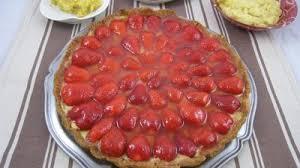 dessert aux fraises facile tarte aux fraises supertoinette la cuisine facile