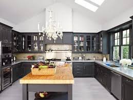 Kitchens With Dark Cabinets And Light Countertops by Dark Cabinets U0026 Light Granite With A Rustic Glam Dining Area