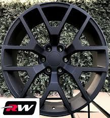 100 20 Inch Truck Rims X9 Inch RW 5656 Wheels For GMC Matte Black 6x1397