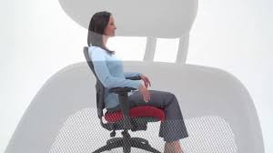 Neutral Posture Chair Instructions by Brezza Mesh Office Chair Relax The Back Youtube