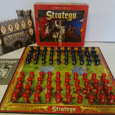 STRATEGO ORIGINAL BOARD GAME BY JUMBO INTERNATIONAL 1999