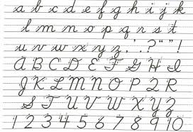 The Return Of Cursive Writing