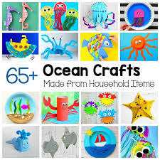 Ocean Crafts For Kids Using Common Materials From Around The House Like Paper Plates Egg