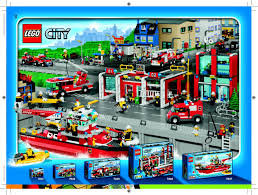LEGO Fire Boat Instructions 7207, City
