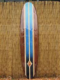 Decorative Surfboard With Shark Bite by Wooden Decorative Surfboard Wall Art Wall By Tikisoulsurfboards
