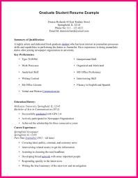 Example Of Cv Student 9