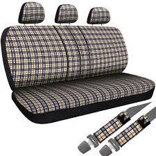8PC OXGORD YELLOW Plaid Bench Seat Covers TRUCK Steering Wheel ... Auto Drive Bench Seat Protector Walmartcom Realtree Switch Back Cover Camo Truck Covers Chevy 8898 And Van Personable New Judelaw And 791983 Dodge Standard Cab Front Upholstery Kit U801 6772 Velocity Ricks Custom Amazoncom Pickup Baja Inca Saddle Blanket Fits Pink 1997 1986 Symbianologyinfo 81 87 C10 Houndstooth Seat Covers 1995 Split Ford F250 I Really Want To Do A Rugged Distressed Brown Leather Bench