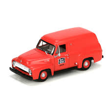 HO RTR 1955 Ford F-100 Panel Truck, RI (ATH27686): Athearn Trains