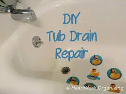 bathtub drain lever bathtubs bathtub drain lever won t stay open
