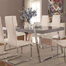 Value City Furniture Kitchen Chairs by Coaster Giovanni Contemporary Table And Chair Set Value City