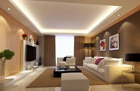 lighting and ceilings living room with graceful and understated