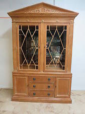 Henredon Breakfront China Cabinet by Henredon Cabinets And Cupboards Ebay