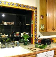 Mexican Kitchen Decor Tile Around A Window Home Projects Gallery Themed