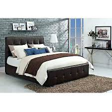 Black Leather Headboard King by Leather Padded Headboard Double Bed Contemporary With Upholstered