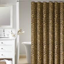 Impressive Animal Print Shower Curtains Inspiration with Popular