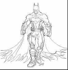 Awesome Batman Coloring Pages For Boys With Lego And