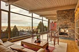 Image Of Mid Century Modern Living Room Design Rustic