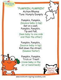 Poems About Halloween For Kindergarten by Pumpkin Pumpkin