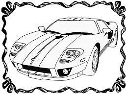 Cool Race Car Coloring 85