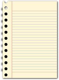 Notebook Paper Clipart Transparent Background 2018