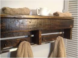 Bath Shelves With Towel Bar by Bathroom Wooden Bathroom Shelves Uk Rustic Wooden Crate Rustic