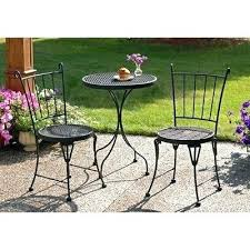 3 Piece Bar Height Patio Bistro Set by Black Bistro Set U2013 Mobiledave Me