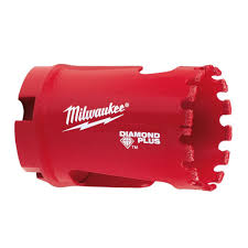 milwaukee 1 3 8 in diamond plus hole saw 49 56 5625 the home depot