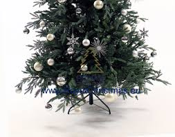 Artificial Silvertip Christmas Tree by Artificial Christmas Tree Delaware Deluxe Natural Model Premium