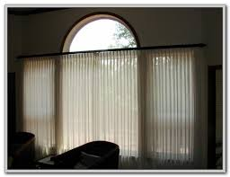 traverse curtain rods with pull cord curtains home design