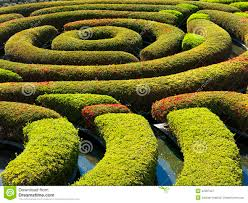 Mazes In Los Angeles Ca by The Central Garden At The Getty Center Stock Photo Image 42367227