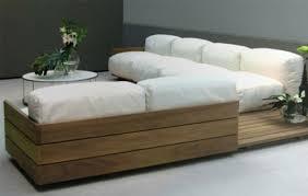 intérieur et canapé design chic palettes en bois mobilier intérieur canapé du salon