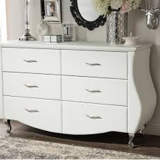 6 Drawer Dresser White by South Shore Vito 6 Drawer Pure White Dresser 3150010 The Home Depot