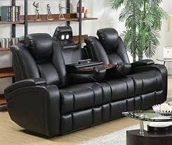 Most fortable couches Leather reclining sofas