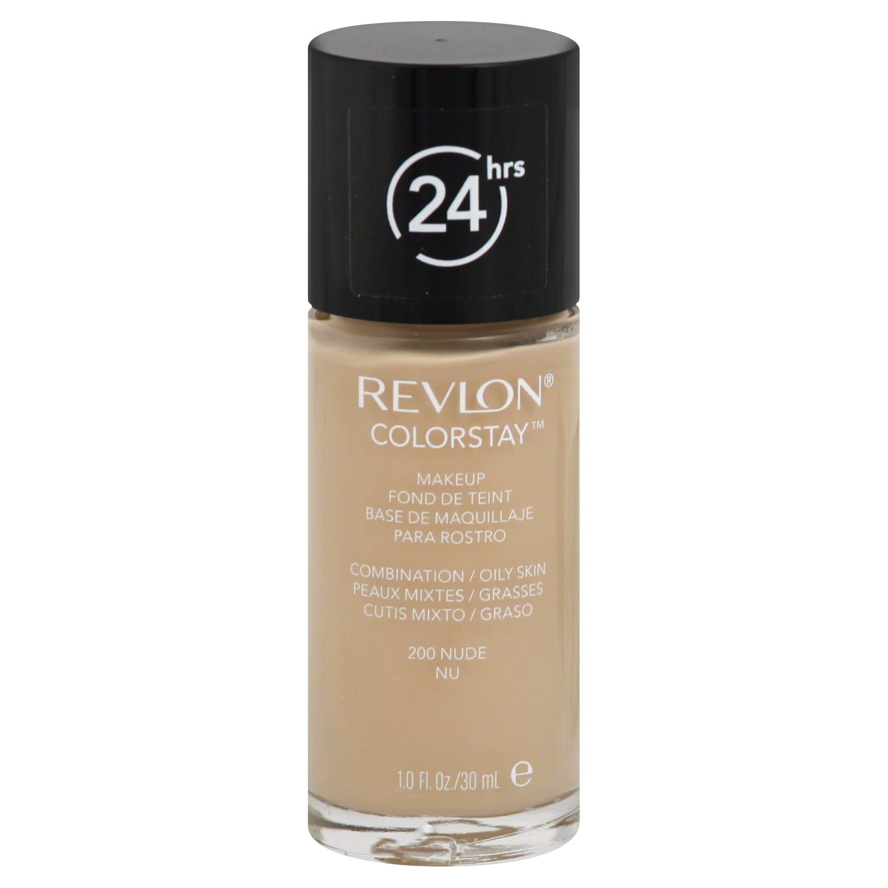 Revlon Color Stay Makeup for Combination/oily Skin - 200 Nude, 1oz