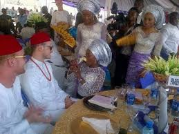 Best of culture in Igbo traditional Wedding Scene 1
