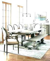 Farm Table Dining Room Farmhouse Tables Sets With Bench Set Chairs