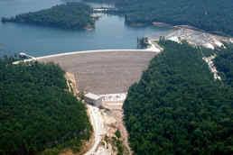 Laurel Bed Lake by Nashville District Locations Dams Laurel River Dam