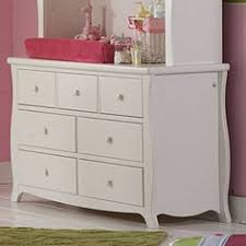 Sorelle Verona Double Dresser Combo French White by Sorelle 7 Drawer Dresser French White Baby Product Pinterest