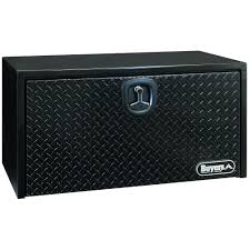 Buyers Products Company 36 In. Black Steel Underbody Tool Box With ... Lund 1031 Cu Ft Mid Size Alinum Truck Tool Box79210 The Home 60 In Underbody Box8260t Depot 30 X 18 Pickup Trunk Bed Box Trailer Brait 49 Atv Storage Rv 53 Alinium Boxes Ute 5 Drawer Side 49x15 Tote For Kobalt Universal Lowes Canada Northern 48in Locking Boxdiamond Plate 48 Flush Mount Box9447 3000 Series Beds Hillsboro Trailers And Truckbeds Better Built 70 Crown Smline Low Profile Crossover