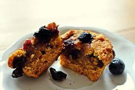 süße kürbismuffins mit heidelbeeren küchenchaos