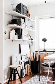 Thinet Chairs Office Corner IKEA Gallo Shelf Flea Market Industrial Chair And Panton Flowerpot Lamp