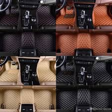 100 Custom Truck Floor Mats For Hyundai Santa Fe XL Seven Seats 20132017 Leather Car